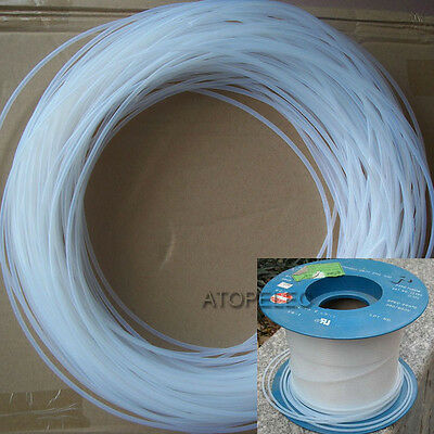 1M PTFE F4 Tubing ID_1MM*OD_2MM Rigid Pipe High Temperature