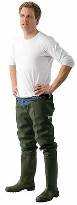 Ocean Budget Thigh Waders With Free Screw In Wader Studs