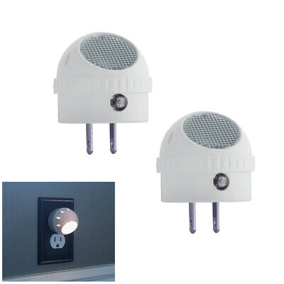 2 Pack LED Guide Night Light with Rotating 360 Swivel and Auto Sensor Control