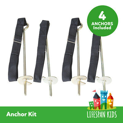 LIFESPAN TRAMPOLINE ANCHOR KITS free Post Australia Wide