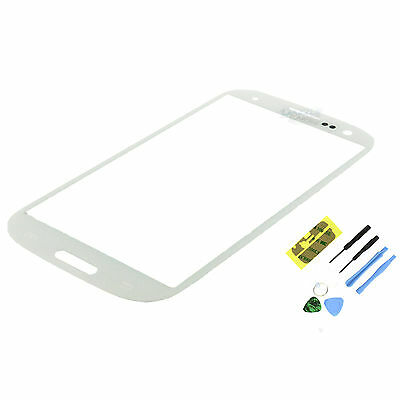 Marble White Screen Glass Lens Replacement for Samsung Galaxy SIII S3 i9300+Tool