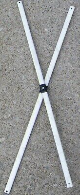 Ozark Trail First Up 9u0027 x 9u0027 Gazebo 2 SIDE TRUSS Bars Replacement Repair & OZARK TRAIL-FIRST Up 10 X 10 Gazebo Canopy Tent 2-Pole Velcro ...