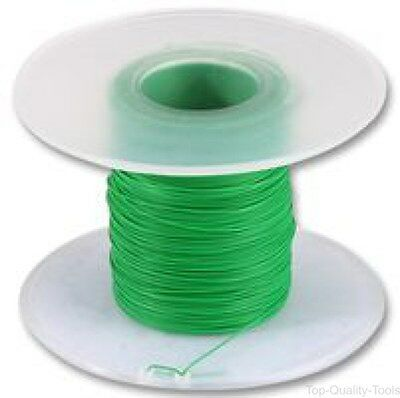 Pro Power,100-30G,Wire, Kynar, 30Awg, Green, 100M