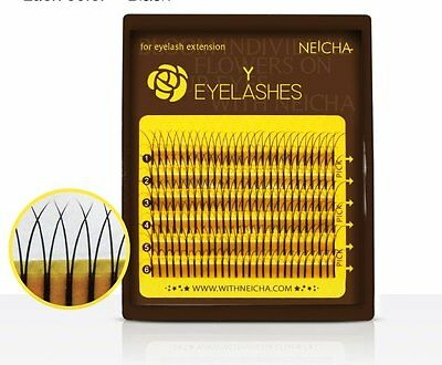 NEICHA Mini Tray Mix Length Y & W Mink Lash J(A), B, C curl for Lash Extension