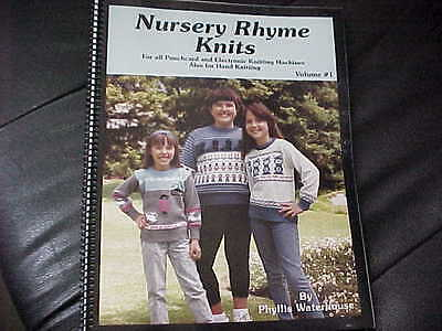 Nursery Rhyme Knits - Punchcard & Electronic Knitting Machines- Nice Patterns