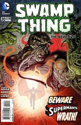 Swamp Thing #20 (NM) `13 Soule/ Kano
