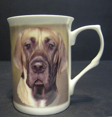 Great Dane Dog English Fine Bone China Mug