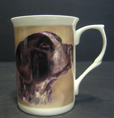 Pointer Dog Fine Bone China Mug Cup Beaker