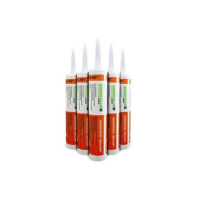 GREEN GLUE - Carton / Lot de 12 Cartouches de Green Glue Noiseproofing Sealant