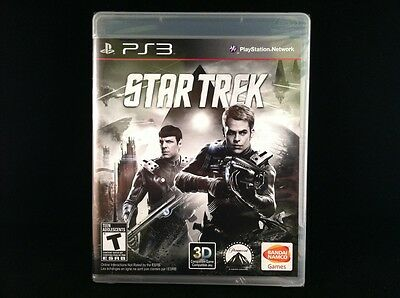 Star Trek: The Game (Sony Playstation 3) BRAND NEW