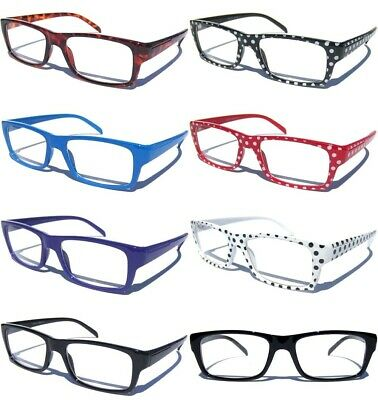 ca5d571a09 Clear Lens Eye Glasses Retro Vintage Style Hipster Nerd Geek Trendy Choose  Frame