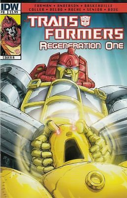 The Transformers: Regeneration One #0 Cover A (Idw Comics)