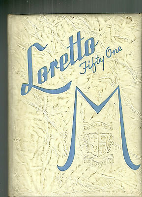 Loretto High School Chicago 1951 Yearbook