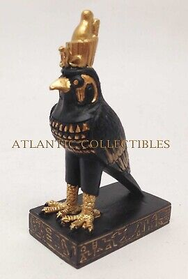 Ancient Egyptian Miniature Doll House Small Sculpture Falcon Head God Horus