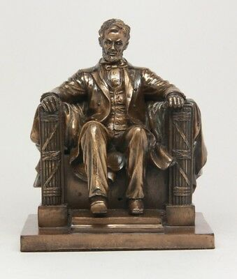 Seated Abraham Lincoln Sculpture Washington President White House Collectible