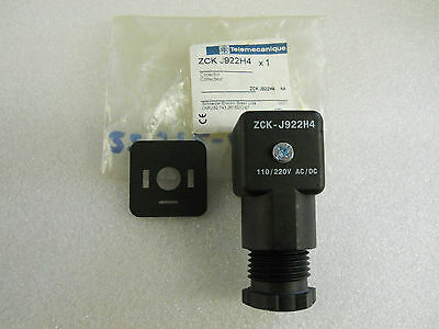 Telemecanique Zck-J922H4 Solenoid Connector 059962  New Condition In Pkg