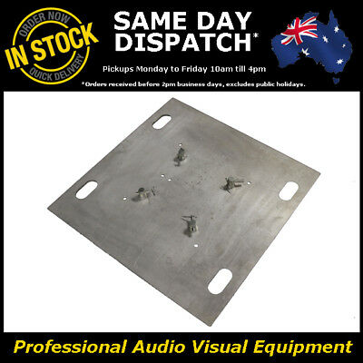 10mm Aluminium Base Plate Box Truss 290mm Heavy Duty Trussing Lighting DJ Stand