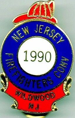 NEW JERSEY 2015 Firemans/' Convention Collectible Lapel pin for 2015 WILDWOOD