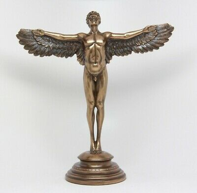 Rising Day Nude Male Angel Sculpture by A.A Weinman (1870-1952) Allegorical
