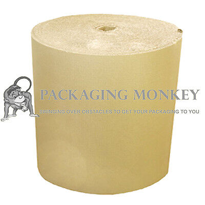 600mm x 3 x 75M STRONG Corrugated Cardboard Paper Rolls