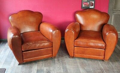 Pair Club Art Deco French