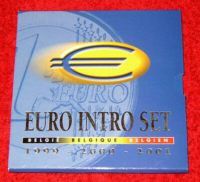 Offizieller KMS BELGIEN 1999 2000 2001- Intro-Set - st / BU --> EXTREM  RAR!!!!