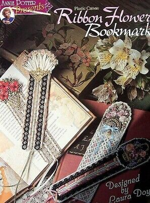Plastic Canvas  Ribbon Flower Bookmarks  Patterns