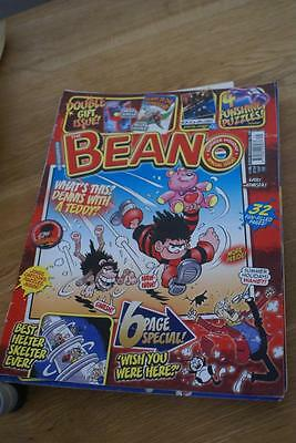 BEANO Comic No 2494. August 1st 2009. Slight crease on front covr