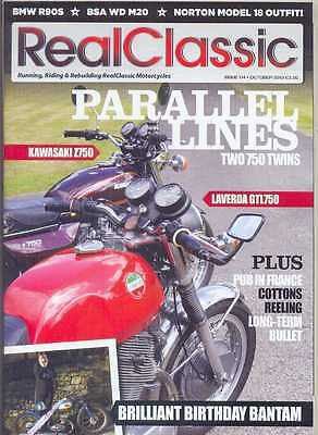 REAL CLASSIC No.114 / October 2013 (NEW) *Post included to UK/Europe/USA