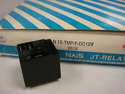 (1) Jtn1S-Tmp-F-Dc12V Nais High Capacity Power Relay 12Vdc 20A 277V Spdt Plug-In