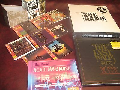 The Band Japan Replicas Cd Box + 5 Cds Live Box + 9 Lp Box + Waltz 6 Lp Boxsets