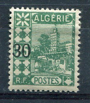ALGERIE - 1927, timbre 73, VUES d' ALGER, MOSQUEE, neuf*
