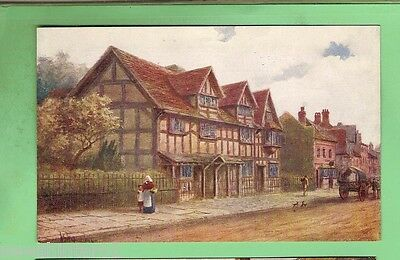#c.  Postcard - Birth Place Of Shakespeare