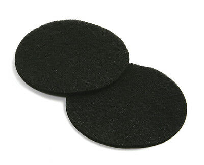 NORPRO 93f Compost Keeper Replacement Round Filter 2 pc Set