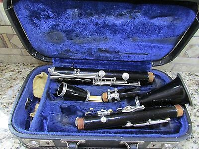 Evette Clarinet And Case Vintage  West Germany