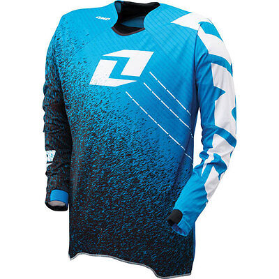New One Industries Vapor Noise Black/blue Jersey Mx Atv Bmx  Xlarge Xl