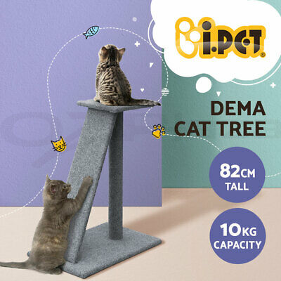 i.Pet Cat Scratching Tree Gym House Scratcher Pole Furniture Bed Toy Small 45cm