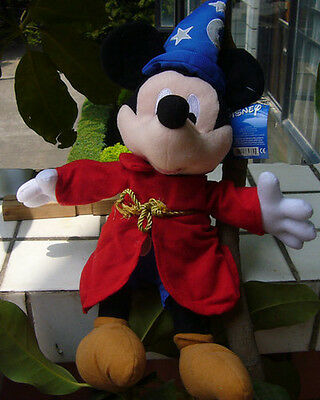 NEW Cuddy Disney Mickey Mouse ~Fantastic ~ Version Plush Doll Lovely 12 inch