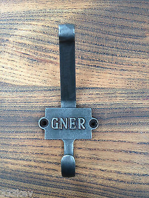 CAST Iron COAT Hook  Great North Eastern Railway    Antique Stlye ..