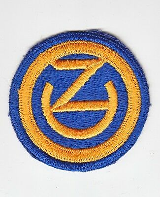 Army Patch: 102nd Infantry Division, cut edge, VN era