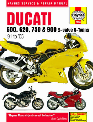 Haynes Workshop Manual Ducati 620Cc Monster 02-05 290