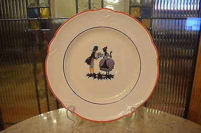 """Homer Laughlin """"Courting Couple"""" Display Plate Collectible C36 N6 Porcelain #3"""