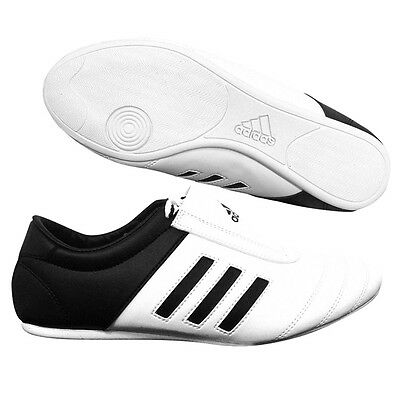 New Adidas Adi-Kick I White Martial Arts Men Taekwondo Training Boots Shoes