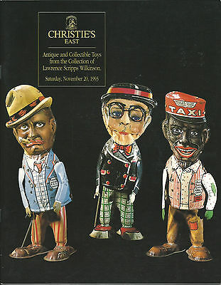 CHRISTIE'S Antique Collectible Toys Wilkinson Collection Auction Catalog 1993
