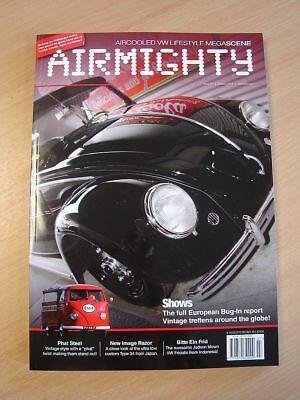 Airmighty VW Porsche Aircooled Magazine Autumn 2011 Issue 7 #07 Brand New Copy