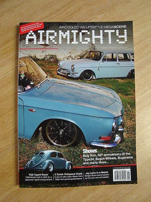 Airmighty VW Aircooled Porsche Magazine Summer 2011 Issue 6 #06 Brand New Copy