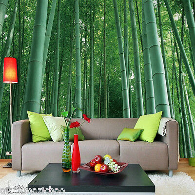 Large Bamboo forest Wall Paper Wall Print Decal Wall Deco Indoor wall Mural Home