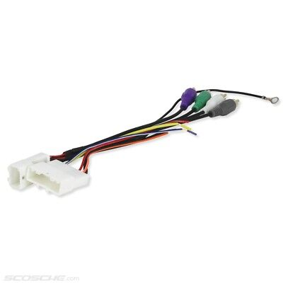 PLUGS INTO FACTORY Radio Car Stereo Wiring Harness Wire ... on