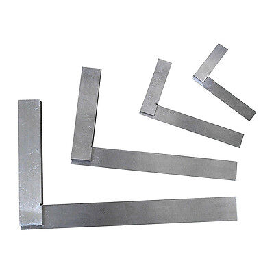 "Engineers Square Set - 4"" 6"" 9"" & 12"" Precision Engineering Squares"