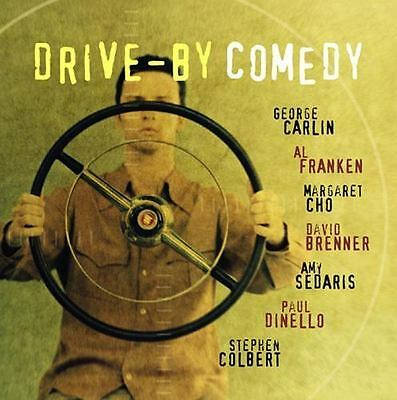 NEW! Drive-By Comedy by David Brenner, George Carlin, Stephen Colbert, Margaret